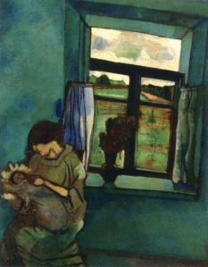 Bella and Ida by the Window1916
