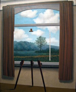 Rene Magritte La condition humaine, 1933