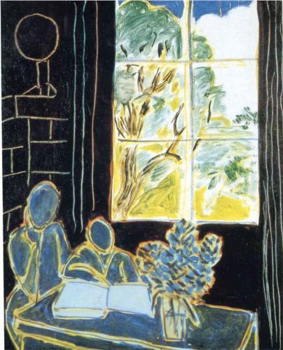 Matisse Window Art Illustris