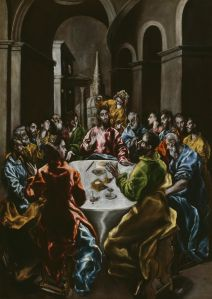 El Greco Feast in the House of Simon 1610