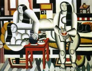 Fernand Leger the-breakfast-1921