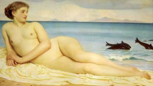 Frederic Leighton Actaea, the Nymph of the Shore1853