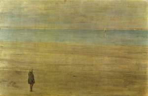 James McNeill Whistler harmony-in-blue-and-silver-trouville 1865