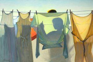 Jeffrey T_Larson Hanging laundry, 2009