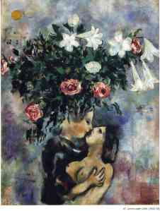 Lovers under lilies 1925