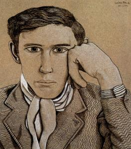 Lucian Freud portrait-of-a-young-man 1944