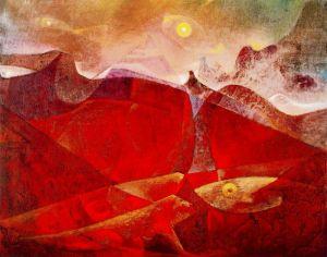 Max Ernst colorado-of-medusa-color-raft-of-medusa-1953