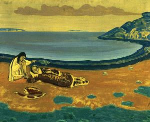 Nicholas Roerich hunter-s-dream-1916