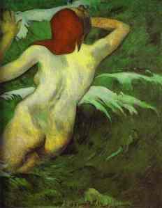 Paul Gauguin In the Waves 1889
