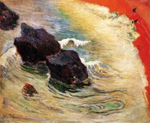 Paul Gauguin The wave 1888