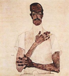 Porträt des Erwin von Graff
