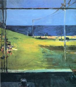 Richard Diebenkorn horizon-ocean-view
