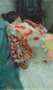 Silk Robe by Johanna Harmon