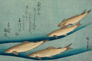 Ukiyo-e woodblock print, 1833, Japan, by Utagawa Hiroshige