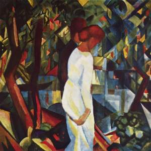 August Macke couple-in-the-woods1912