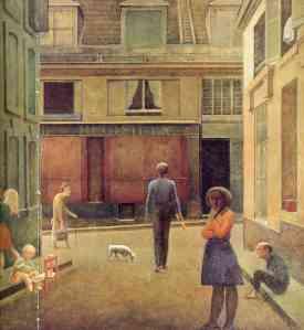 Balthus the-passage-of-commerce-saint-andre-1954