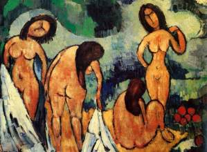 Bathers, by Maurice de Vlaminck