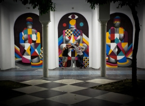By Remed & Okuda.ELOVUTION. Reunification 2012 Sevilla