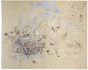 Constantin Flondor drawing-for-capturing-the-air-1982