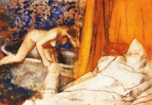 Edgar Degas the-bath-1890