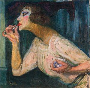 Frantisek Kupka Lipstick,1908