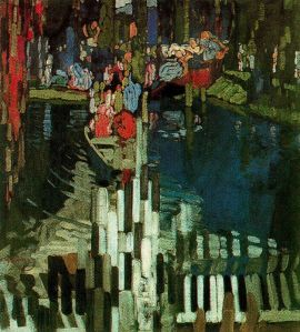 Frantisek Kupka Piano keys lake,1905