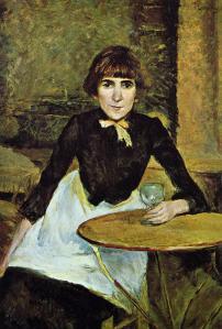 Henri de Toulouse-Lautrec at-la-bastille-portrait-of-jeanne-wenz-1889