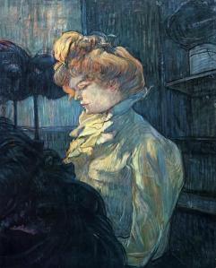 Henri de Toulouse-Lautrec the-milliner-1900