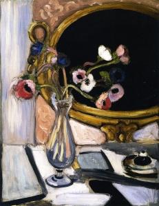 Henri Matisse - Anemones and Mirror, 1920
