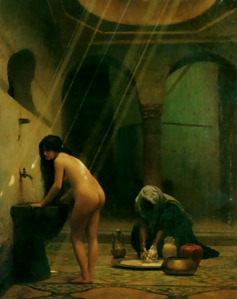 Jean-Leon Gerome the-moorish-bath