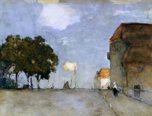 Johan Hendrik Weissenbruch city-view