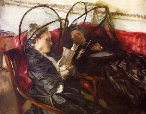 John Singer Sargent mosquito-nets-1908