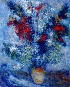 Marc Chagall flower-bouquet-1982