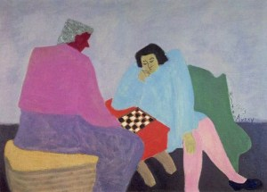 Milton Avery checker-players-1943