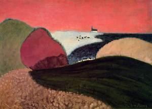 Milton Avery gaspe-pink-sky-1940