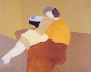 Milton Avery poetry-reading-1957