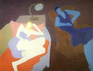 Milton Avery two-women-1950