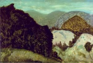 Milton Avery vermont-hills-1936
