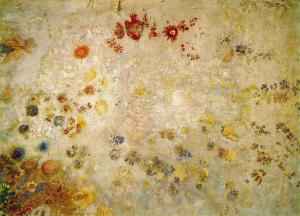 Odilon Redon Decorative panel, 1902