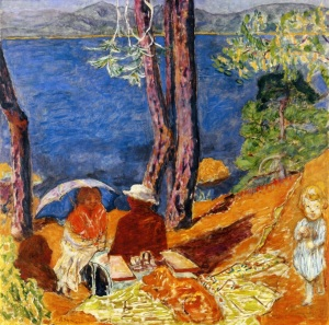 Pierre Bonnard By the sea under the pines,1921