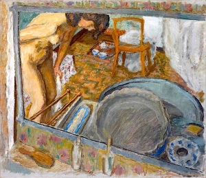 Pierre Bonnard - Effet de glace ou le tub, 1909