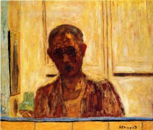 Pierre Bonnard self-portrait-1
