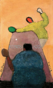 Ping Pong Players by Milton Avery, 1944
