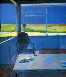 Richard Diebenkorn interior-with-book