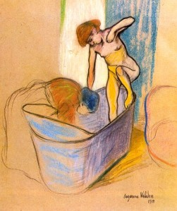 Suzanne Valadon the-bath-1908