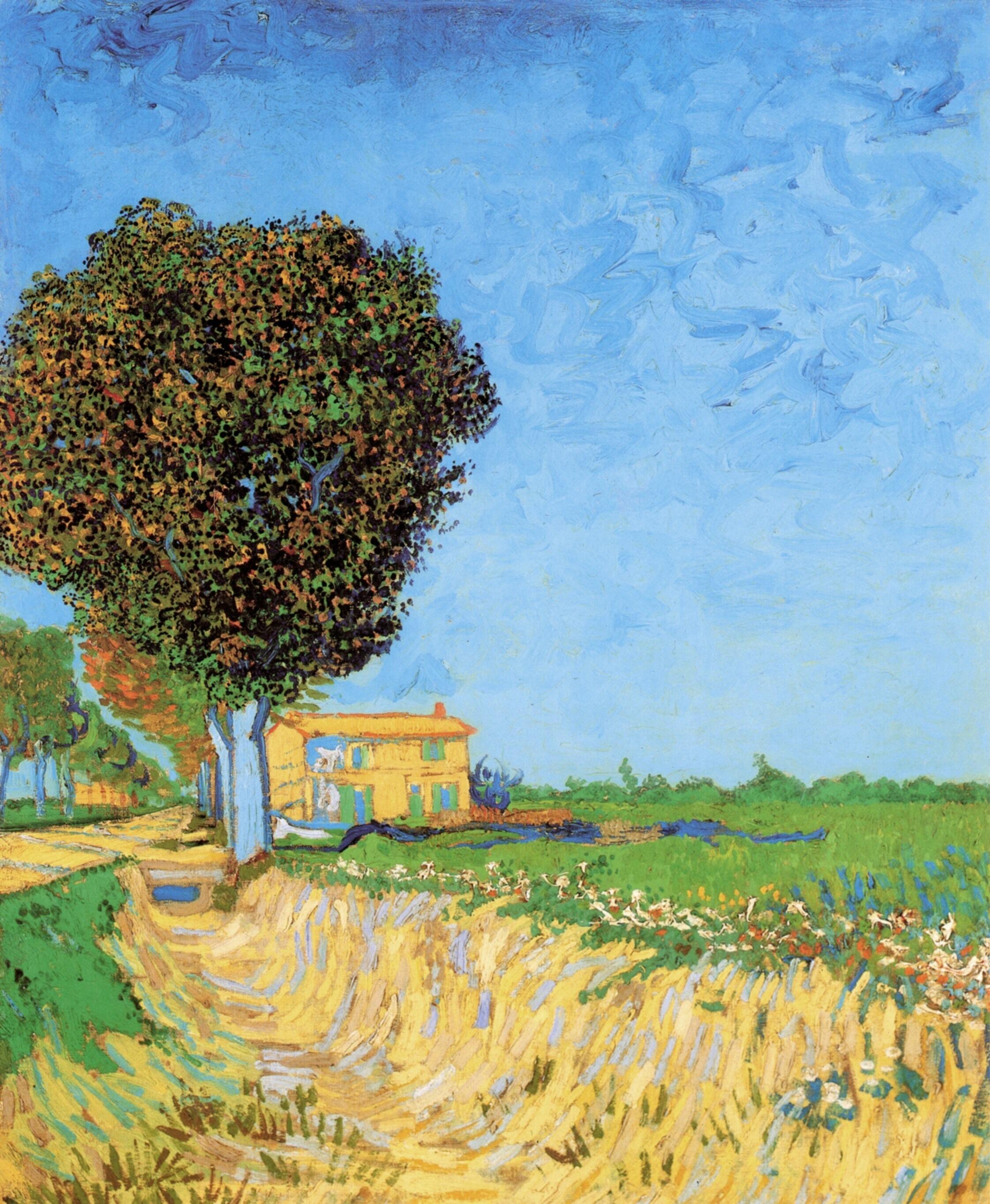 Van Gogh Wallpaper: Art Illustris