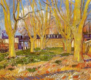 Vincent van Gogh avenue-of-plane-trees-near-arles-station-1888(1)