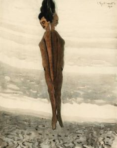 Leon Spilliaert-L'elevation 1910