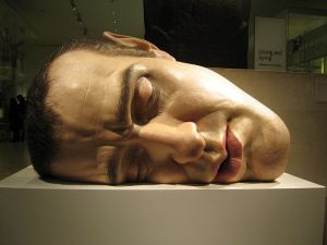 Mask II by Ron_Mueck_head 2010