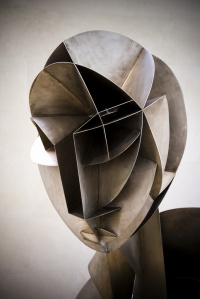 Naum Gabo, Constructed Head No 2, 1916